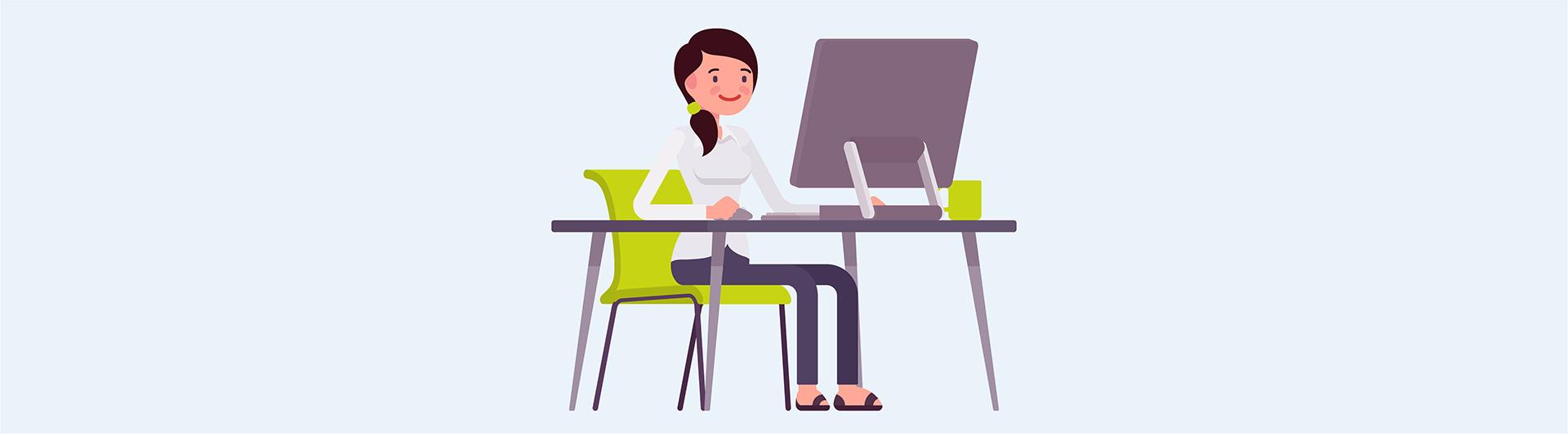 Auswahlhilfe Online Lehrlingstest Österreich Testsituation